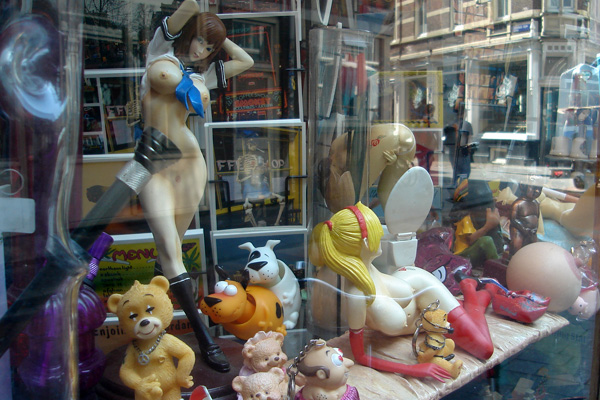 amsterdam store window