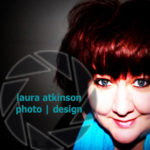 laura atkinson photo design logo
