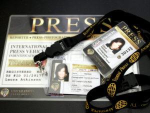 press credentials 2013 through current
